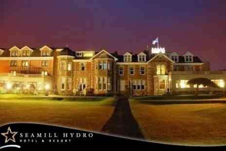 Seamill Hydro Hotel and Resort - Overnight Stay For Two With Breakfast Plus Use of Leisure Facilities - Save 60%
