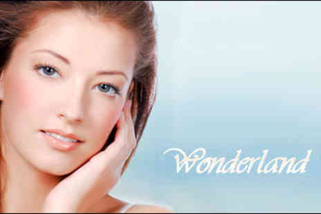 Wonderland Nails & Beauty - Luxury two-hour treatment package including Diamond Microdermabrasion, Mask Vivien - Save 74%