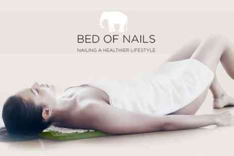 Bed of Nails - Acupressure Pillow - Save 60%