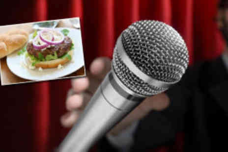 Highlight Comedy Clubs - Fosters Comedy Live and a burger - Save 78%