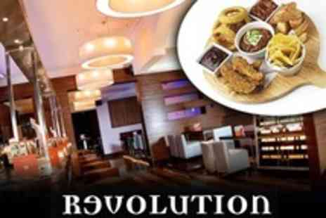 Revolution Chester - Sharing Platter and Vodka Teapot For Two - Save 53%