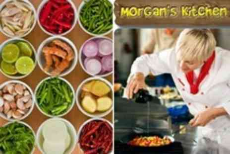 Morgan's Kitchen - Vegetarian Thai Cookery Class With BYOB Dining - Save 67%