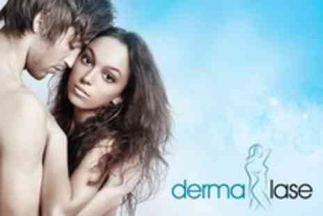 Dermalase - IPL Hair Removal Six Sessions For Choice of Areas - Save 14%