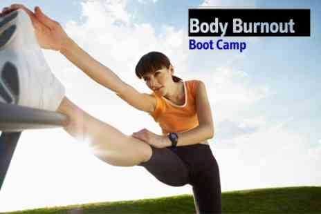 Body Burnout Boot Camp - Seven Boot Camp Fitness Sessions With One Month Gym Membership - Save 86%