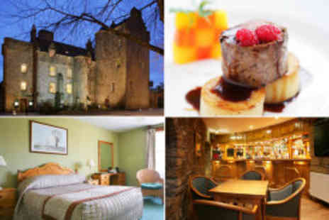 Dornoch Castle Hotel - Two night bed and breakfast stay for two  - Save 67%