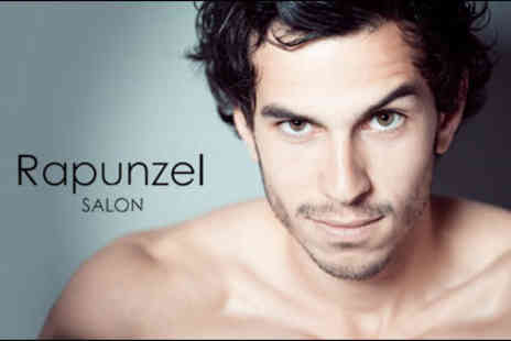 Rapunzel Salon - £9 for a men's cut and finish with an express colour treatment, worth £43.50 - Save 79%