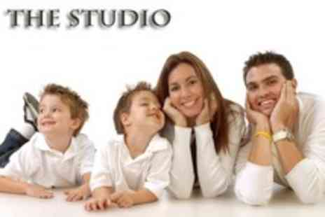 The Studio - Family Photoshoot With Prints - Save 24%