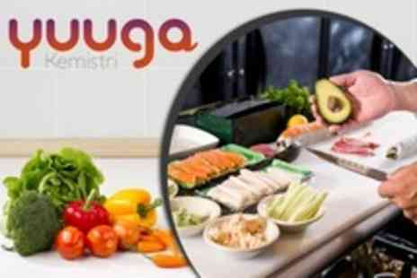Yuuga Kemistri - Asian Fusion Raw Food Cookery Class With Tastings and Dessert - Save 11%