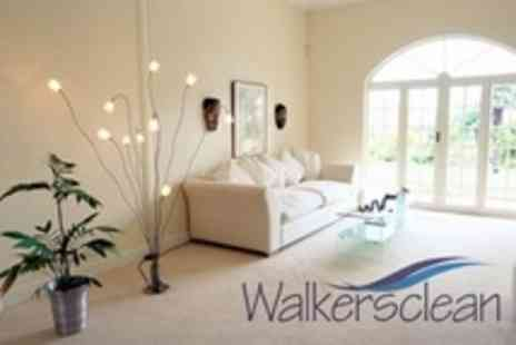 Walkers Clean - Carpet Clean In Three Rooms - Save 68%