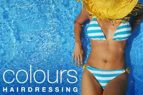 Colours Hairdressing - Full Body Spray Tan Plus Pre-Tan Exfoliation for £8 - Save 60%