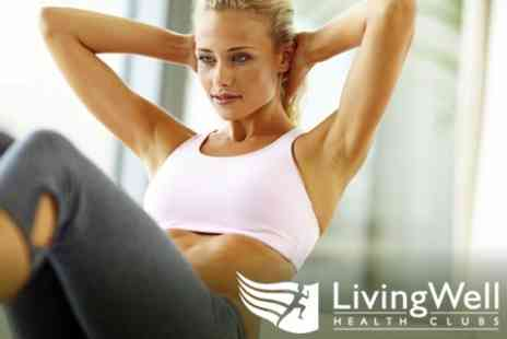 LivingWell Health Club - One Month Spa Access with Boot Camp Sessions - Save 89%