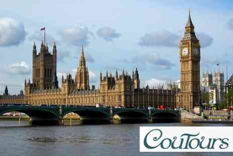 Coutours - Choice of London Tours, See Royal London, Scandal London or East London - Save 75%