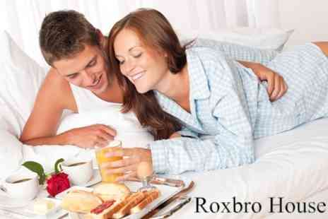 Roxbro House - One Night s Stay With Full La Carte Breakfast For Two - Save 55%
