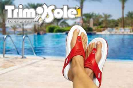 TrimSole.com - Three Pairs of TrimSole Sandals - Save 67%