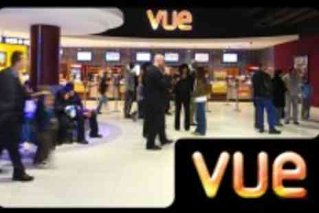 Vue Cinema - Discount cinema ticket for £1 only with Groupon - Save 90%