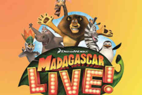 milkn2sugars - Madagascar LIVE showing Gold Band Tickets - Save 50%