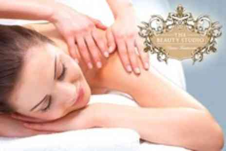 The Beauty Studio - Back, Shoulder and Neck Massage Plus Facial or Indian Head Massage - Save 70%