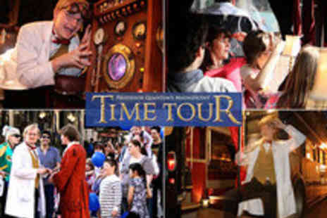 Time Tours - Professor Quantums Magnificent London Time Tour Tickets Plus Guide Book - Save 43%