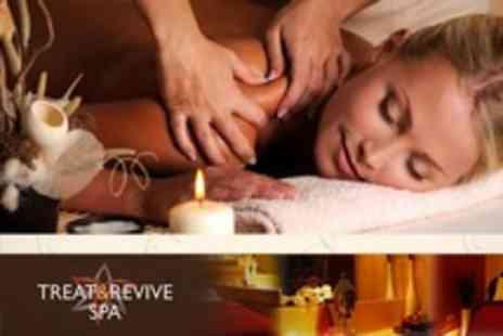 Treat and Revive Spa - Swedish Massage Plus Elemis Facial or Body Scrub For One or Two - Save 67%