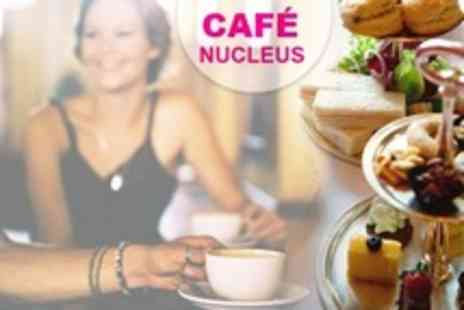 Cafe Nucleus - Afternoon Tea For Two - Save 50%