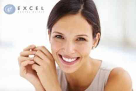 Excel Dental Clinic - Single Dental Implant Including Bone Augmentation and Crown - Save 63%