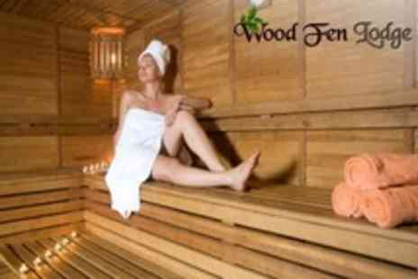 Wood Fen Lodge - Country Spa Day For One or Two With Lunch, Dermalogica Face Mapping and Skin Bar - Save 75%