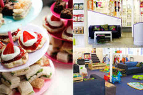 Beanies Cafe - Afternoon Tea for 2 & Child Playfloor Entry for 2 at Award Winning Family Friendly Eatery - Save 50%