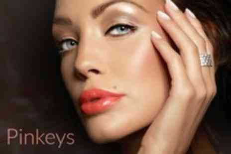 Pinkeys - Beauty Treatments include Fake Bake spray tan, Minx and Shellac manicures Lash extensions and brow tint - Save 61%