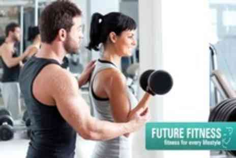 Future Fitness - Eight Personal Training Sessions for One - Save 59%