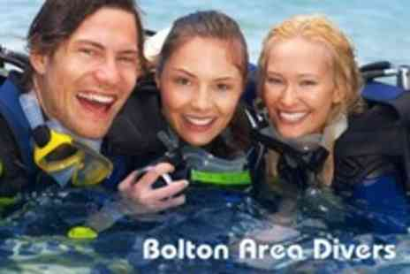 Bolton Area Divers - Padi Scuba Diving Open Water Referral Course - Save 64%