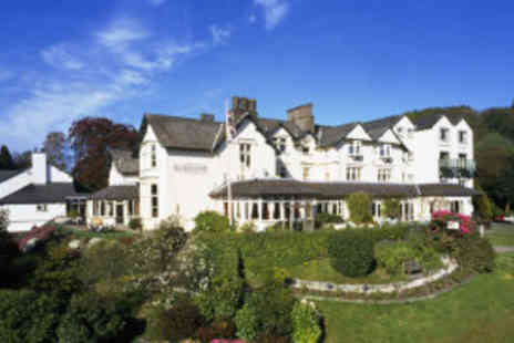 The Burnside Hotel - Two night Lake District stay for two with breakfast, cream tea  - Save 62%