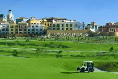 Your Golf Travel - 3 night stay at the 5 star Villaitana, Alicante with breakfast and unlimited golf - Save 71%