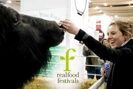 Real Food Festival - Day Entry to the Real Food Festival at Earls Court Exhibition Centre on 5th-8thMay 2011 - Save 63%