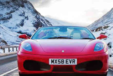 Exhilarate Scotland - Supercar Driving Experience with Six Driving Laps - Save 70%