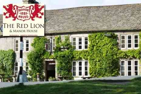 The Red Lion Hotel & Manor House - Overnight Stay In The Yorkshire Dales With Breakfast And Wine - Save 51%