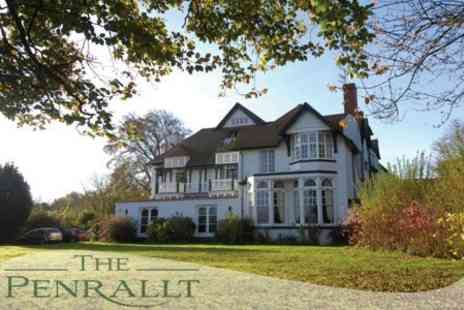 The Penrallt - Overnight Stay For Two With Three Course Dinner, Continental Breakfast - Save 62%