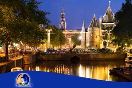 Amstel Botel - Two Night Amsterdam Break With Flights, Breakfast and Sightseeing Cruise - Save 50%