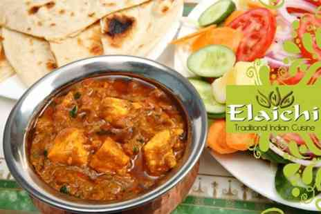 Elaichi Indian Restaurant - Two Courses of Traditional Indian Cuisine For Two -Save 61%