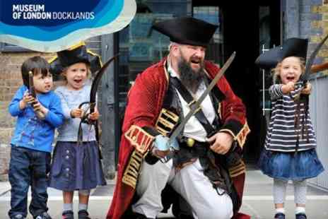 Museum of London Docklands - Family Ticket to Pirates The Captain Kidd Story - Save 60%