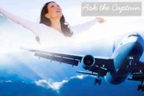 Ask the Captain - Half Day Fear of Flying Course - Save 67%
