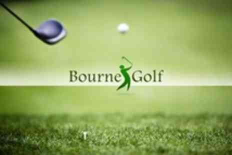 Bourne Golf Centre - One PGA Lessons Using Video Analysis - Save 53%