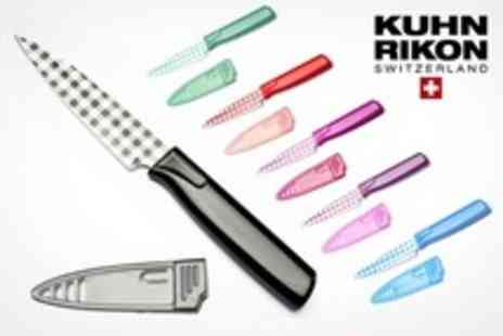 Mahahome.com - Kuhn Rikon Colori Art 10cm Paring Knives - Save 62%