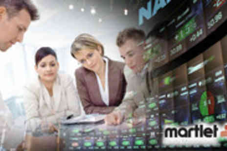 Martlet Equity - Opportunity to learn more about stock markets, with this One Day Beginners Course - Save 85%