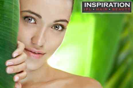 Inspiration Hair & Beauty Salon - Three Crystal Clear Microdermabrasion Treatments - Save 81%