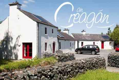 An Creagan - Two or Three Nights Cottage Break for Up to Nine Including Wine - Save 54%