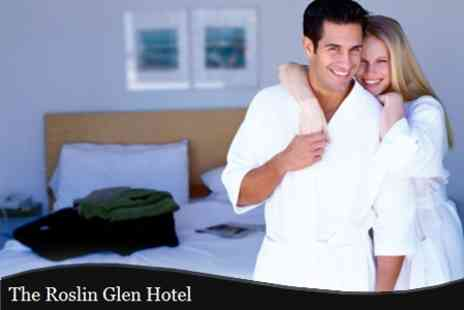 The Roslin Glen Hotel - Overnight Stay Two Course Dinner With Wine For Two - Save 53%