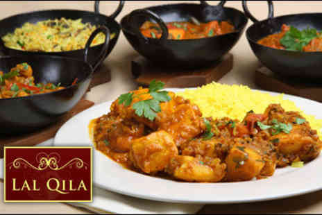 Lal Qila - £19 for a delectable starter, main & side dish for two people, worth up to £55 - Save 65%
