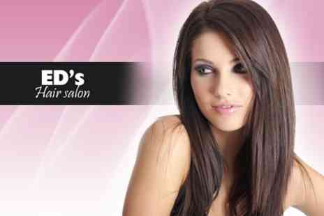 Ed's Hair Salon - Brazilian Blow Dry - Save 71%