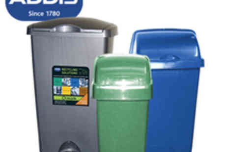 Addis - Set Of 3 Addis Recycling Bins - Save 61%