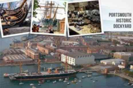 Portsmouth Historic Dockyard - One Year Entry Pass Plus Cream Tea For Two - Save 59%